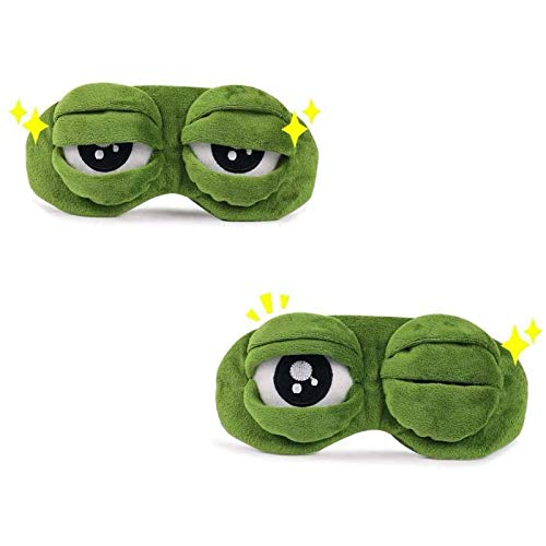 Beesuya VR Mad Frog Lens Cover Protector for The Oculus Quest 2 VR Headset to Protect The Lens from Scratches and Damage
