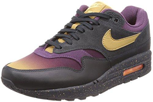 Nike Air MAX 1 Premium, Zapatillas de Gimnasia Hombre, Gris (Anthracite/Elemental Gold/Pro 002), 38.5 EU
