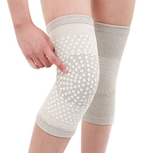 Knuffel Anti-Slip Vrouwen Kniebeschermers Ademende Ondersteuning Mouw Bescherming voor Hardlopen Klimmen Sport Voetbal Basketbal Fietsen (1 paar)