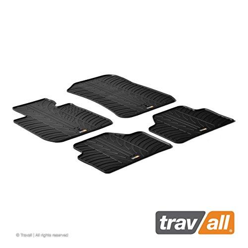 Travall Mats Tapis de Voiture Compatible avec BMW X1 (2009-2015) TRM1174 - Tapis de Sol en Caoutchouc sur Measure