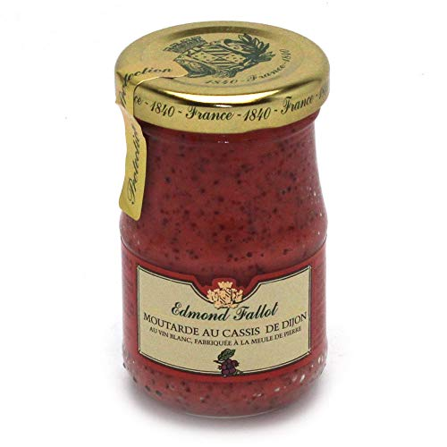 Fallot - Dijon-Senf mit schwarzen Johannisbeeren - 205g