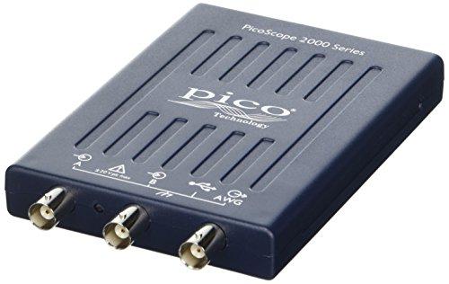 Pico Technology PicoScope 2204A-D2 - Osciloscopio para PC (2 canales con FG/AWG, 10 MHz, sin sonidos)