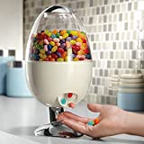 Automatic Treat dispenser Motion Activated Desktop Touch-free Dispenses Gum Candy Snacks Peanuts prevents the spread of germs White