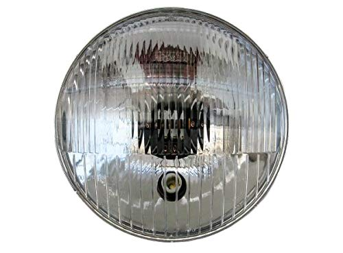 Scheinwerfer - Reflektor mit E-Prüfzeichen - Aufnahme für Standlicht und Glühbirne - Simson S50, S51, S70 - MZ ES150