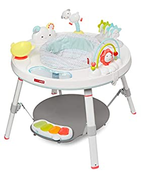 Skip Hop Baby Activity Center  Interactive Play Center with 3-Stage Grow-with-Me Functionality 4mo+ Silver Lining Cloud