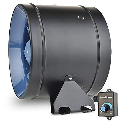 "TerraBloom 10"" EC Motor Inline Duct Fans"