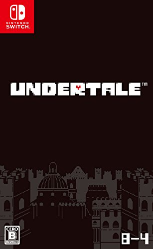 8-4 Fangamer Undertale RPG NINTENDO SWITCH JAPANESE IMPORT REGION FREE