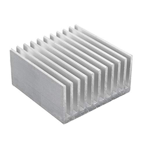 Módulo electrónico 40x40x20mm de aluminio del disipador de calor del disipador de calor Equipo electrónico de alta precisión