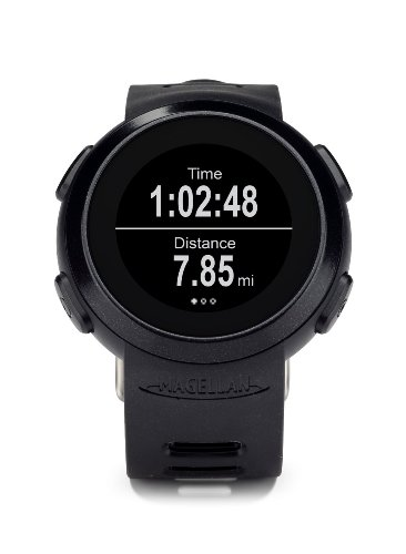 Magellan Echo Smart Watch Fitnesstracker Sport Armbanduhr in schwarz - kompatibel mit diversen Sport-Apps - robust und wasserfest