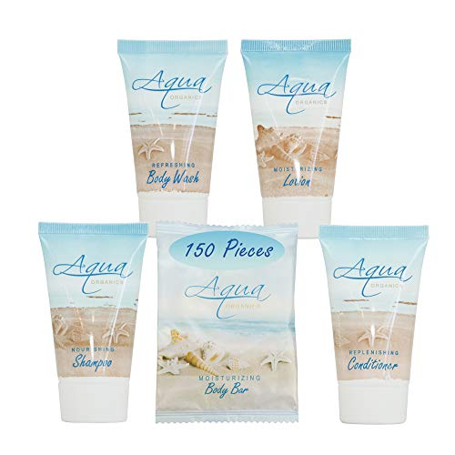Aqua Organics 1-Shoppe All-In-Kit Hotel Size Amenities Set