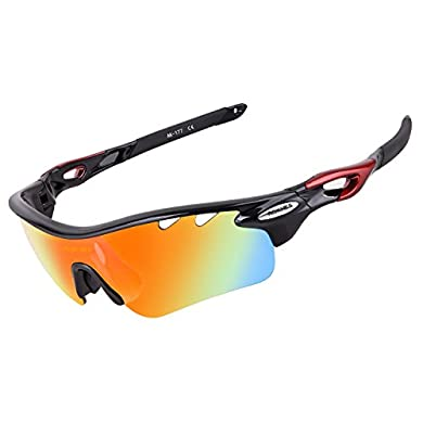 a41ef5ee25b AOKNES Polarized Cycling Sunglasses for Men Women with 5 Lenses Fishing  GlassesAOKNES Polarized Cycling Sunglasses for Men Women with 5 Lenses  Fishing ...