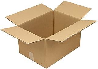 Faltkarton aus Wellpappe, 2-wellig, braun, Abm (LxBxH)  430x310x250mm,A3,Qual. 2.30BC, 20 Stück B07CLFCTGX  Zart