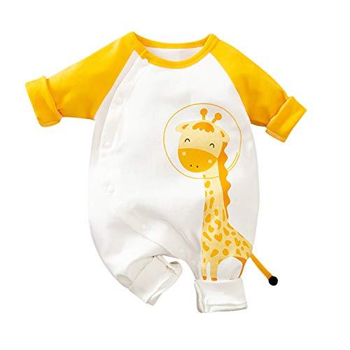 Katsaz Body Bebe Niño Recien Nacido Manga Larga Lindo Dibujos Jirafa Mameluco Niños Niñas Ropa Bebe Niña Mono Bebés Bautizo Bodies Infantil Fiesta Pijamas