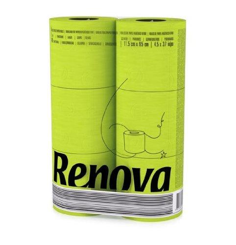 Renova Deco Kitchen Roll Paper Towels Gigarolls 6 Rolls