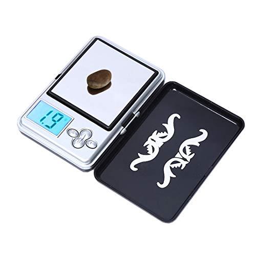 JIXIAO Waage ATP-188, tragbare Digitale elektronische Minitaschen-Gepäckwaage (0,01 bis 100 g), ohne Batterien