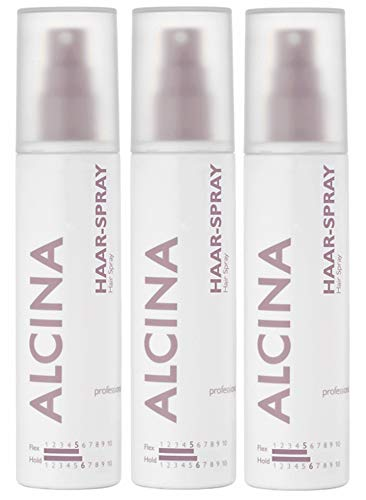 3er Flex Hold Haar Spray Alcina 125 ml