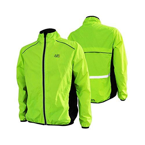 Fancybox Eeda - Camiseta de ciclismo para hombre, transpirable, manga larga, cortavientos, para ciclismo