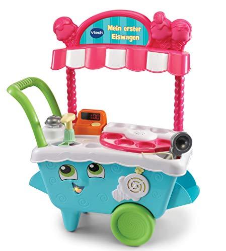 VTech 80-600764 Mein erster Eiswagen Rollenspielzeug, Einkaufsladen, Mehrfarbig