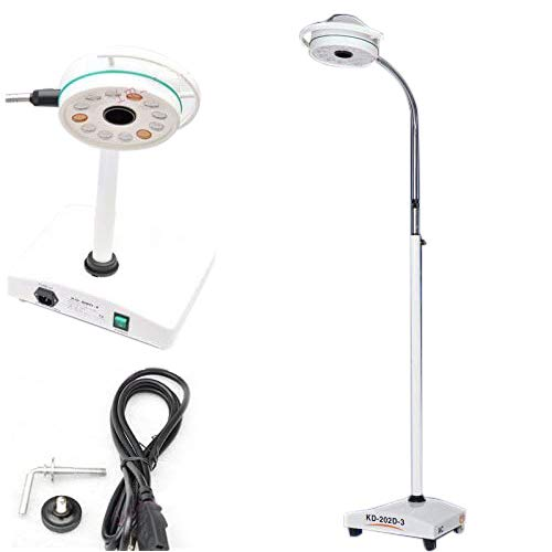 36W Surgical Medical Exam Light Mobile AC LED Shadowless Lamp KD-2012D-3 by Ocean Aquarius
