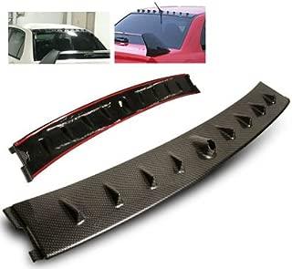 Remix Custom 02-07 Mitsubishi Lancer EVO MR Style Vortex Generator Roof Spoiler Carbon Looks