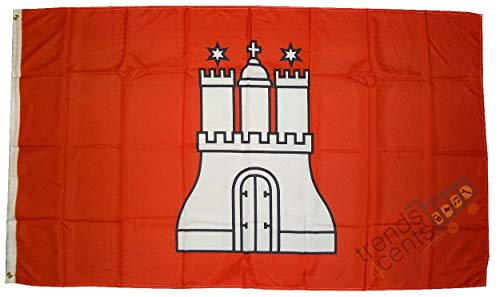 München extérieur-hambourg drapeau 90 x 150 cm