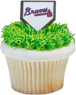 MLB Atlanta Braves Cupcake Rings - 24 ct by MLB