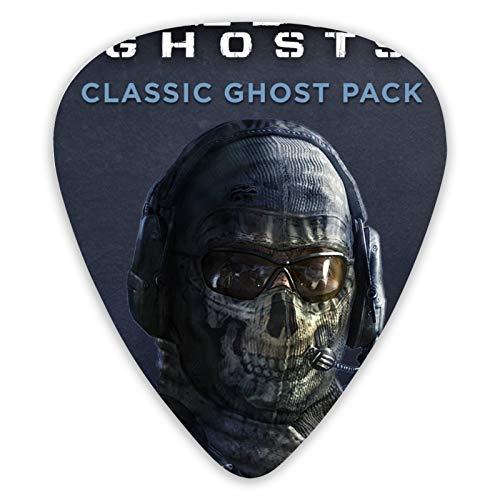Call of Duty Ghosts - Púas para guitarra acústica (12 unidades)