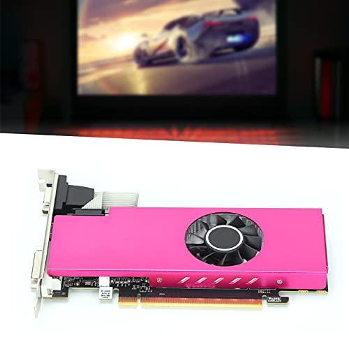 Tarjeta gráfica de Media Altura, Tarjeta de Video de bajo Consumo de energía Y15A Radiador 128Bit VGA/HD Interfaz Multimedia para DirectX 12 / Mantle/OpenGL 4.5