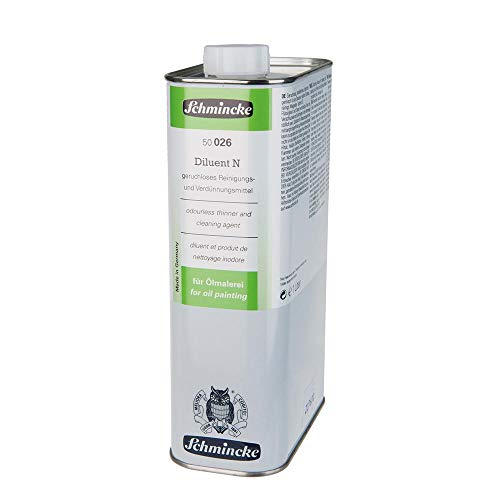 Schmincke Diluent N, 1000ml Öl Hilfsmittel 50 026 029