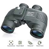 USCAMEL Jumelles Militaires 10X50 de Portée avec Boussole Binoculars, Haute...