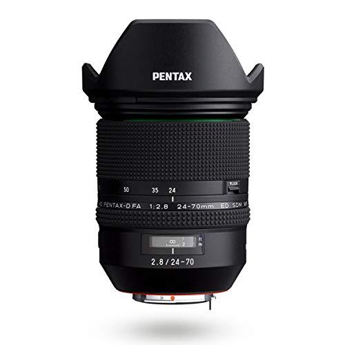 Pentax HD FA 24-70 mm F2.8ED SDM WR Zoom Estándar de Alto Rendimiento 24 mm Ultra Angular Construcción Resistente al Clima Potencia de Imagen Excepcional Cristal ED Lentes Asféricas Recubrimiento HD