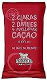 Paleobull Barrita Energética con Avellanas, Cacao y Reishi - 9 barritas de 1 x 50 gr - Total: 450 gr