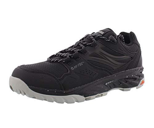 HI-TEC Men's Hiking Running Outdoor Shoes (Black, 8.5)