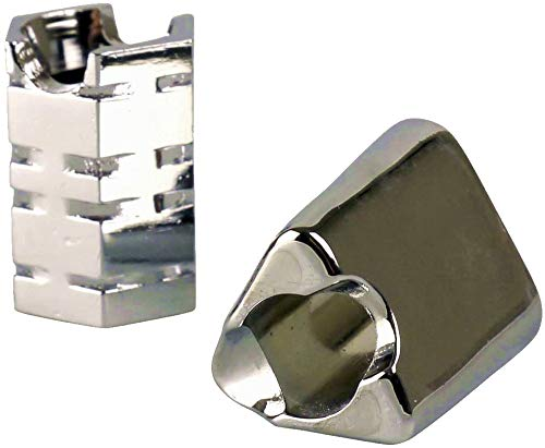 yaoviz® 3X Glutkiller für Aschenbecher Silber div. Formen schwere Qualität offen Gluttöter Glutlöscher