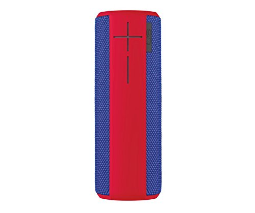 Logitech 984-000451 UE Boom Bluetooth-Lautsprecher Superhero blau/rot