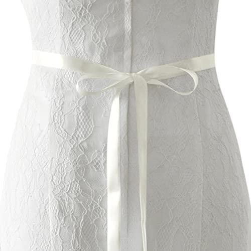 TRiXY Cinturones de boda para mujer Fajín de cristal Cinturón de novia...