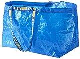 IKEA FRAKTA Lot de 10grands sacs de rangement–Idéal pour une utilisation en extérieur et (Charge max–25kg)