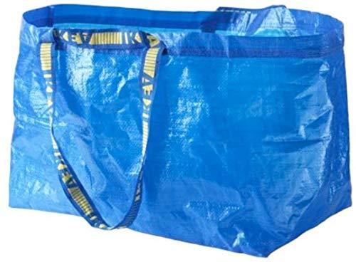 IKEA Ikea Frakta Einkaufstasche / Wäschetasche, groß, 5 StüCk-Ideal für den Gebrauch im Freien