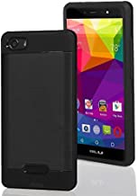 BLU Advance 5.0 HD A050U ,BLU Dash X2 D110U Case, High Impact Hybrid Slim Shockproof Protector Case For BLU Advance 5.0 HD A050U ,BLU Dash X2 D110U -BLACK(Doesn't fit Blu Advance 5.0)