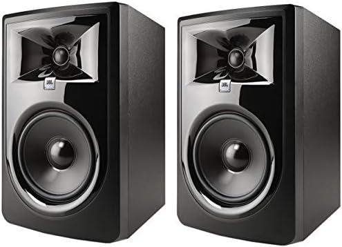 JBL Professional 306P MkII Next Generation 6 2 Way Powered Studio Monitor 306PMKII Pair product image