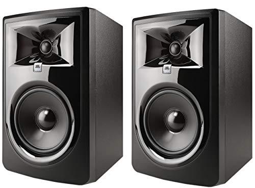 "JBL Professional 306P MkII Next-Generation 6"" 2-Way Powered Studio Monitor (306PMKII) (Pair) (2 Items)"