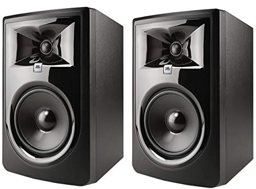 JBL Professional 306P MkII Next-Generation 6' 2-Way Powered Studio Monitor (306PMKII) (Pair)