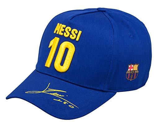 FC Barcelona - Gorra Barca - Lionel Messi - Coleccion oficial - Talla ajustable