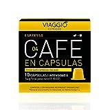 Viaggio Espresso Cápsulas de café compatibles con máquinas Nespresso Espresso (120 Cápsulas)