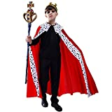 Kids Regal King Cape Costume (4-6Y)
