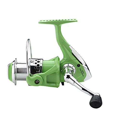 FYSHFLYER Lite Green High Speed Spinning Reel; Plastic Frame/Light Weight Professional Spinning Reel