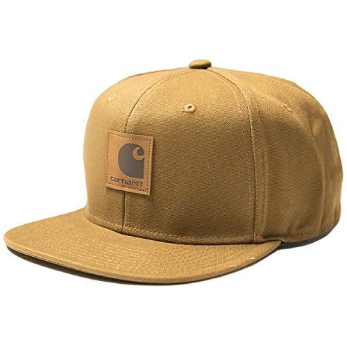 カーハート ワークインプログレス CARHARTT WIP ロゴキャップ Logo Cap スナップバックキャップ 帽子 ハミルトンブラウン