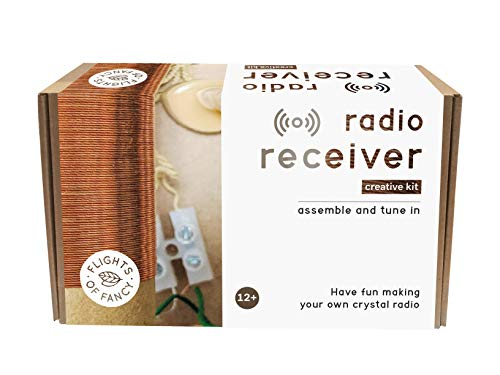 Flights of Fancy 85810 Radio Receiver Creative kit, Brown/White