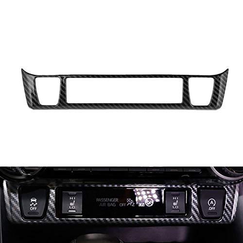 Tocatus for 2019 2020 Toyota RAV4 Seat Warmer System Decoration Trim, 1pc