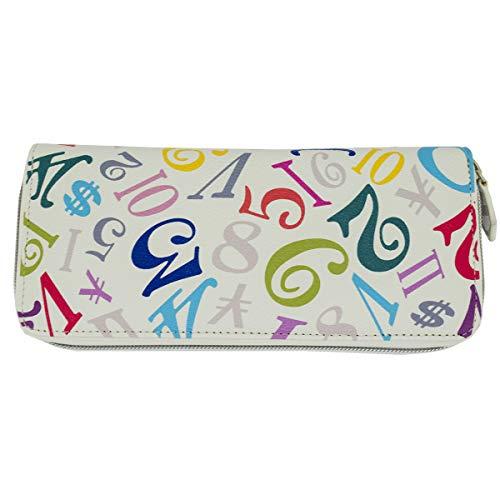 フランク三浦 財布 オリジナルBOX付き メンズ レディース ユニセックス 二つ折り財布 長財布 国内正規品 (レインボーホワイト)